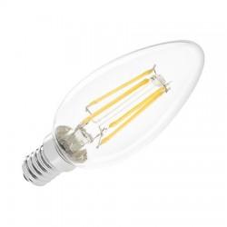 (ZAR0402) BEC LED 4W E14 FILAMENT 3000K 230V VIPOW